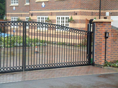 Accurate Wrought Iron Driveway Gate Openers And Gates In